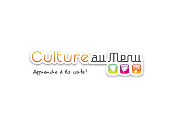 Culture_au_Menu_logo réalisé par TOTEM