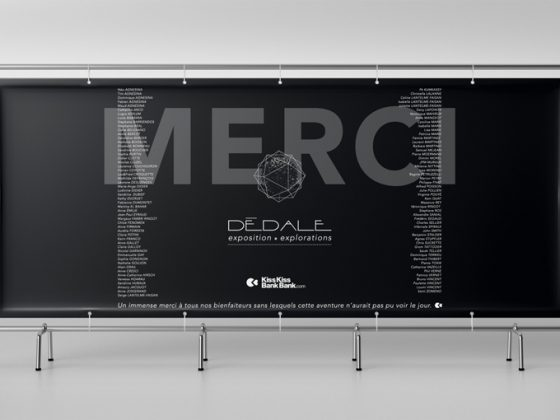 bannière Dédale Création TOTEM studio graphique 2017