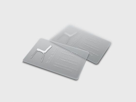 cartes transparentes