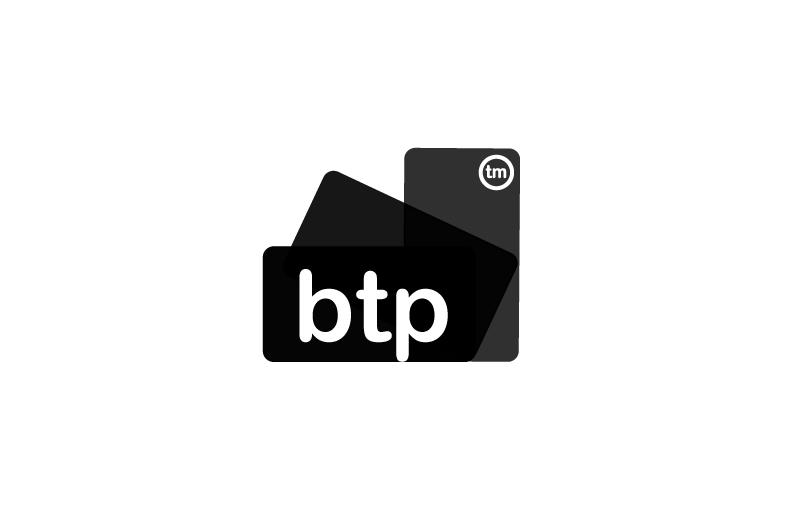 Logo BTP : Création TOTEM Studio Graphique